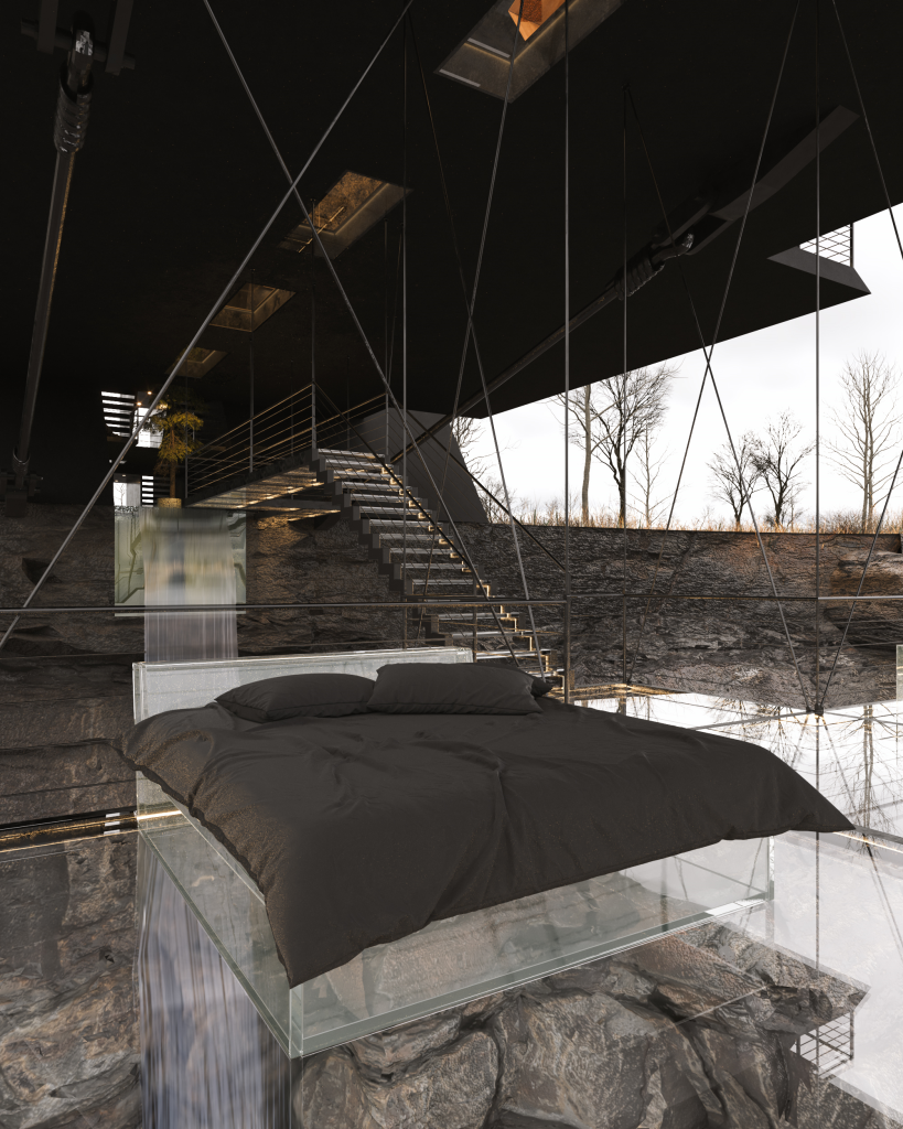 Suspended House
